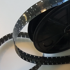 Geschat aantal minuten 9,5 of 16 mm film-2