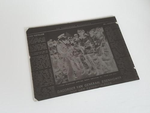 Glasnegatieven of Glasdia's, vlakfilm, kodak disk
