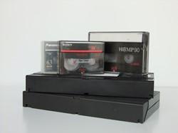 Videobanden en cameratapes - opslag op DVD