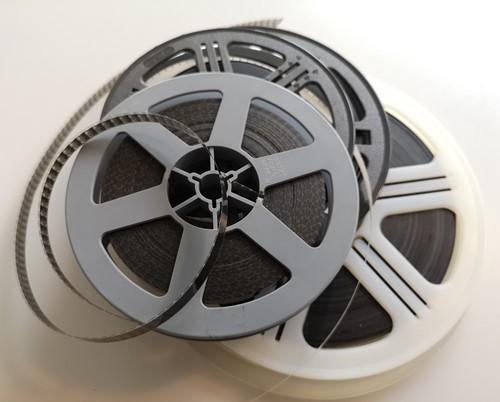 Aantal minuten 8 mm film toevoegen