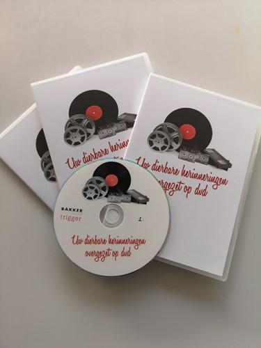 Opslag op USB/HDD én op DVD Prijs op naberekening, ligt aan aantal te maken DVD